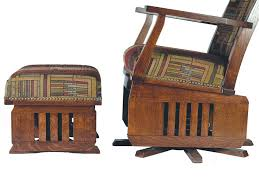 amish leola mission swivel glider rocking chair