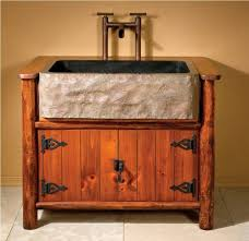 Crate And Barrel Farmhouse Table Bathrooms Design Bathroom Vanity Farmhouse Style Rustic Open