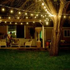 Edison Bulb Patio String Lights by Amazon Com Shine Hai Outdoor String Lights 48ft With 24 Dropped