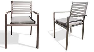 chaise jardin aluminium chaise de jardin en aluminium irwan mobilier moss
