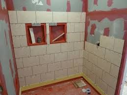 Installing Shower Tile Part 1 How To Install Tile On Shower Tub Wall Step By Step