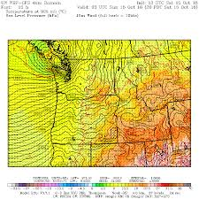 Seattle Weather Map by Cliff Mass Weather And Climate Blog Today U0027s Major Storm A
