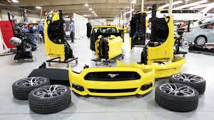 build ford mustang 2015 2015 ford mustang build run timelapse