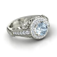 aquamarine wedding rings white gold aquamarine wedding ring with platinum men s aquamarine