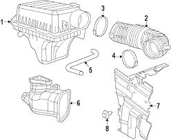 dodge charger oem parts parts com dodge charger air intake oem parts