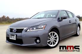 lexus ct 200h the lexus ct 200h is a fast fun hybrid mocha man style