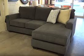 Sofa With Reversible Chaise Lounge by Ashley Furniture Hodan Marble Sofa Chaise 797 Review Youtube