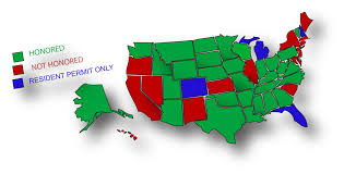 Utah Concealed Carry Permit Reciprocity Map by Which Permit Is Right For You Legal Heat