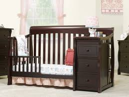 Storkcraft Portofino Convertible Crib And Changer Combo Espresso by Sorelle Tuscany Elite 4 In 1 Convertible Crib And Changer Wayfair
