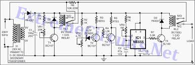 high low voltage cutout without timer electronic circuits
