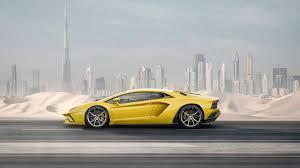 sport cars lamborghini lamborghini aventador s introduced with 740 hp and four wheel steering