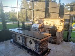 Outdoor Stone Firepits by Creative Outdoor Kitchens Big Green Egg Creative Outdoor Kitchens
