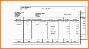 10 free payroll check stub template samples of paystubs