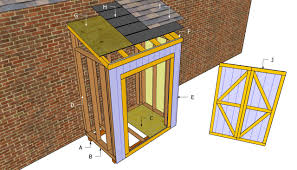 attached shed plans free furniture pinterest woodworking