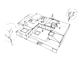 House Drawing by Gallery Of Roof House Leth U0026 Gori 22