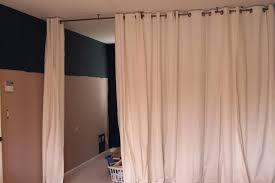 Diy Room Divider Curtain Room Dividers Ideas For Studios Divider Curtain Track Diy Glass