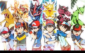 ash and his aces through the ages pokémon know your meme