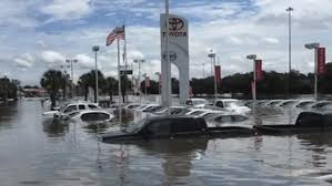 lexus dealership amarillo tx four dealerships got the worst flood damage among auto retailers