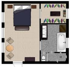 Large Master Bathroom Floor Plans Master Bedroom Addition Floor Plans And Here Is The Proposed