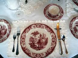 beautiful place setting picture of auberge j a moisan quebec