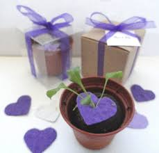 flower seed wedding favors unique party favors decorations flower seeds are in the paper