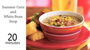 corn recipes for thanksgiving summer corn and white bean soup recipe myrecipes