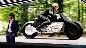 bmw motorcycle change bmw motorrad vision 100 motorcycle no helmet needed slashgear