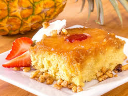 how to make a pineapple upside down cake from scratch sweets