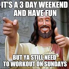Workout Partner Meme - buddy christ latest memes imgflip