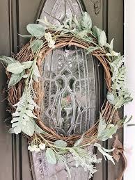 two super affordable diy wreaths liz marie blog