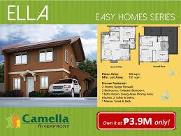 camella homes talamban riverfront ella model cebu dream investment