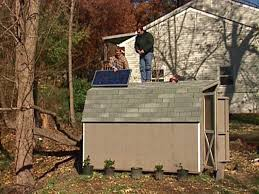 How To Build A Small Backyard Storage Shed by Solar Storage Shed Building How To How Tos Diy