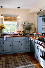 country kitchen painting ideas blue and yellow country kitchen caruba info
