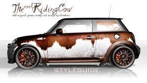 design folien mini vollfolierung the cool cow wraparts
