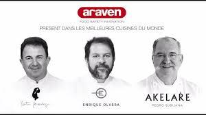 meilleures cuisines du monde araven dans les meilleures cuisines du monde