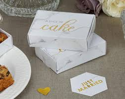 wedding cake boxes for guests cake box etsy