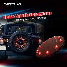 jeep accessories lights firebug jeep wrangler 3rd brake light spare tire led light jeep