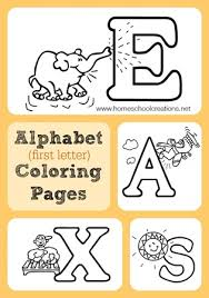 letter coloring pages free alphabet coloring pages free printables