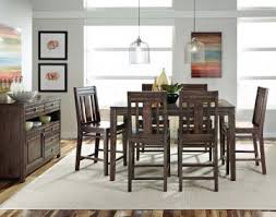 kincaid dining room furniture design center kincaid montreat tall dining table set in graphite by dining rooms