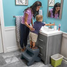 step stool for bathroom sink carry top two step stool furniture step2