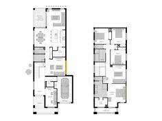 Narrow Block Floor Plans West Leederville Narrow Plans House Designs Pinterest