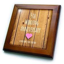 geschenk 5 hochzeitstag 5 yr wedding anniversary gift wedding anniversary gifts by year