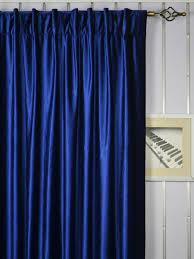 63 inch 96 inch whitney blue solid blackout back tab velvet