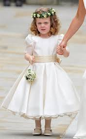 flower girl wedding kate middleton wedding flower girl dresses crew satin