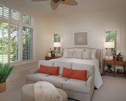Couch For Bedroom by Florida Vacation Home Master Bedroom Contemporary Bedroom