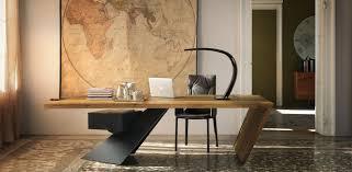 bureau bois design contemporain bureau contemporain bois