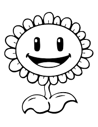 plants zombies printable coloring pages kids
