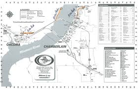 Map South Dakota Chamberlain Oacoma Map U2013 Chamberlain Chamber