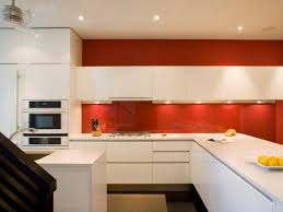 high gloss paint for kitchen cabinets appliances marvelous contrast color kitchen design with orange