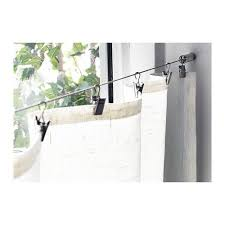 Curtain Clips Ikea Best 25 Curtain Wire Ideas On Pinterest Ikea Curtain Wire
